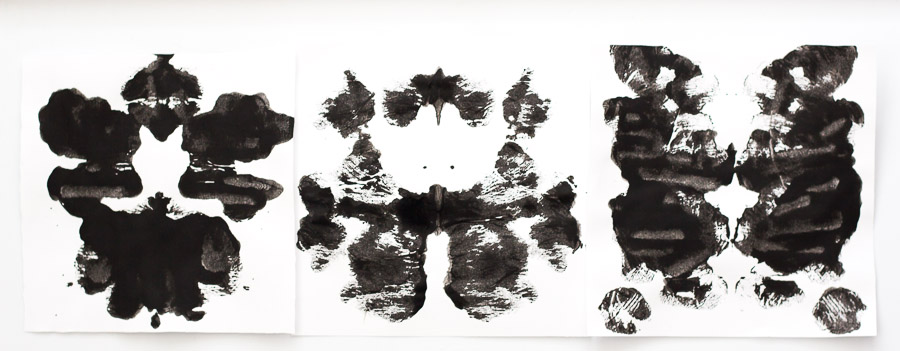 DIY Rorschach Inkblot Trivets | Pretty Prudent | Click for full tutorial