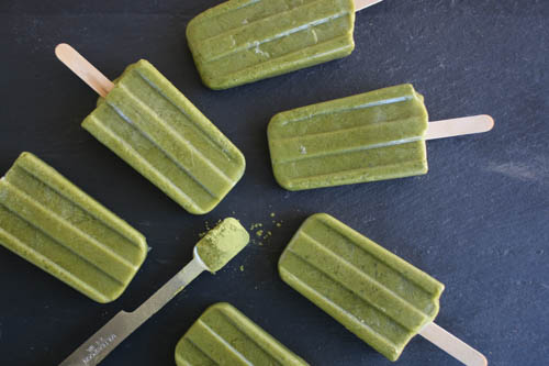 Matcha Green Tea Pop Recipe