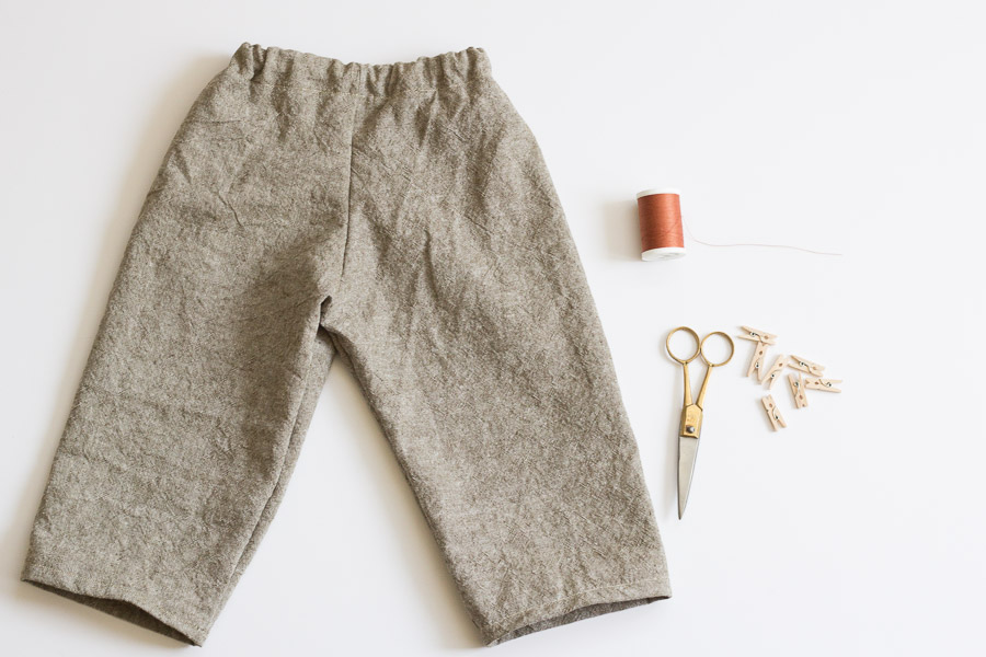 How to Make the Easiest Pants Ever (12 of 13)