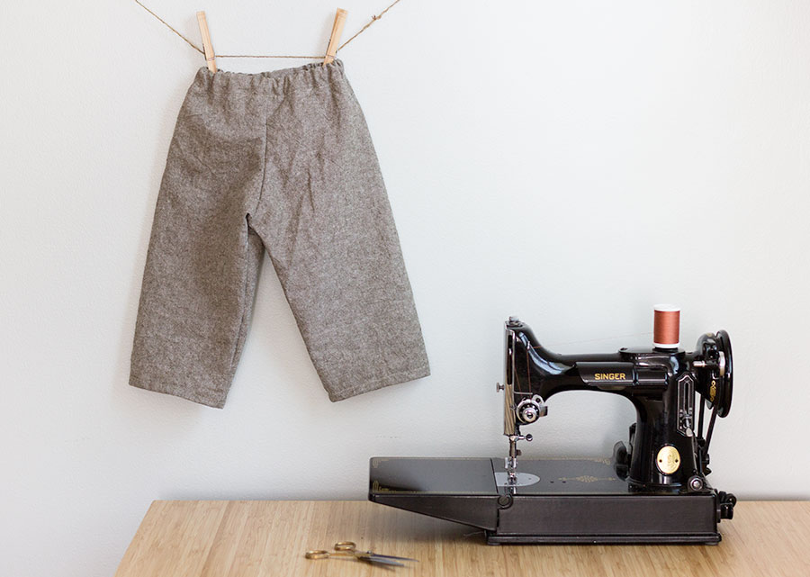How to Make the Easiest Pants Ever