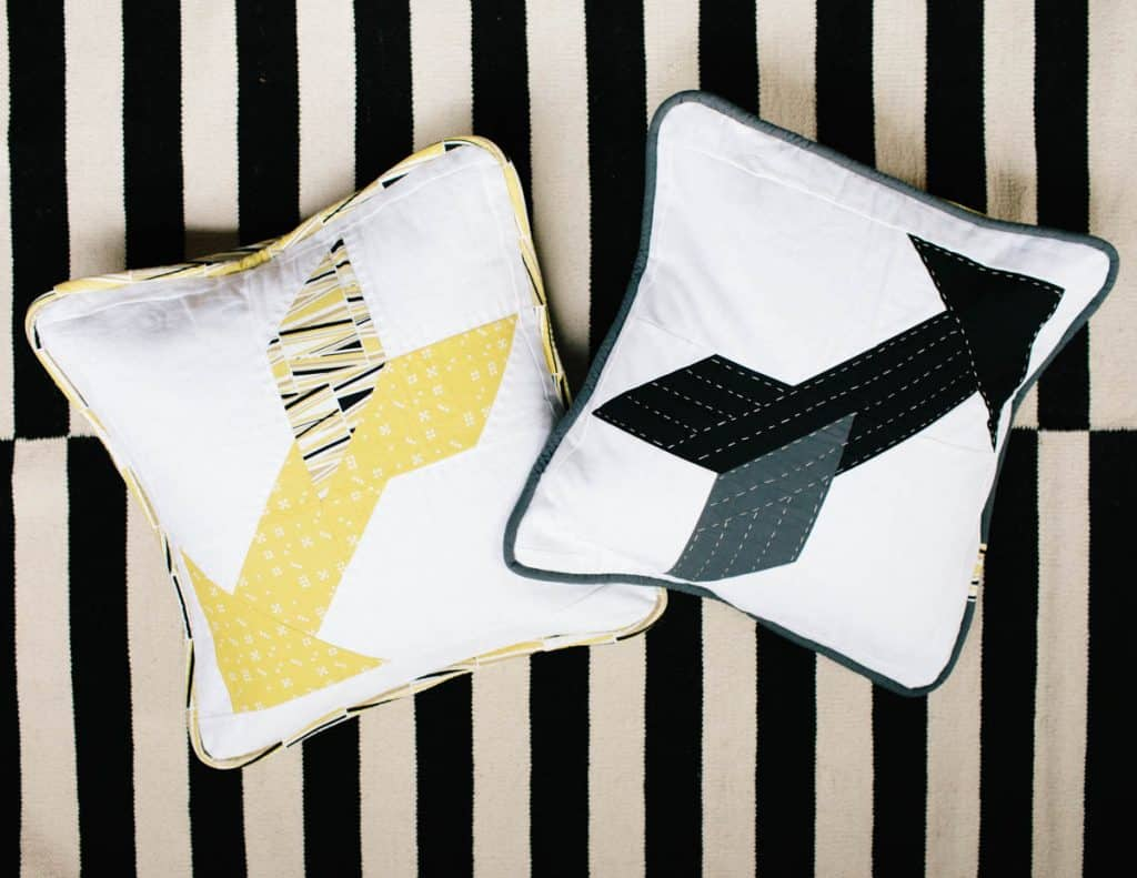 Arrow Quilt Block Pillow: PPH Bonus!
