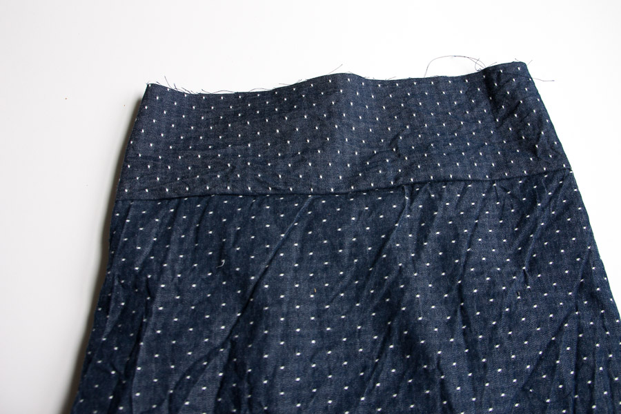 DIY Button Down Skirt (7 of 16)