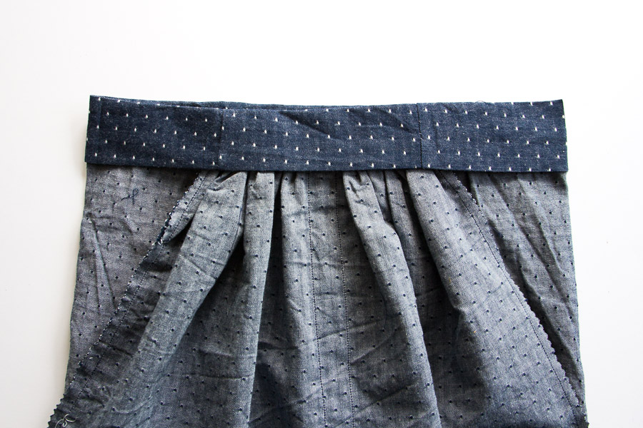 DIY Button Down Skirt (8 of 16)