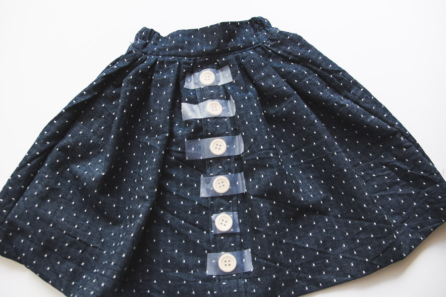 DIY Button Down Skirt (15 of 16)