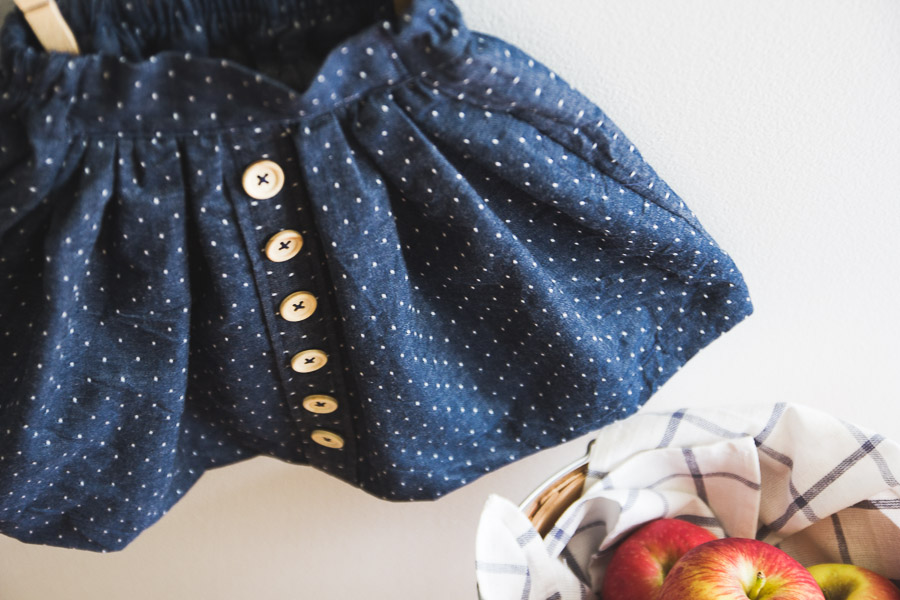 Little Forager Skirt Tutorial