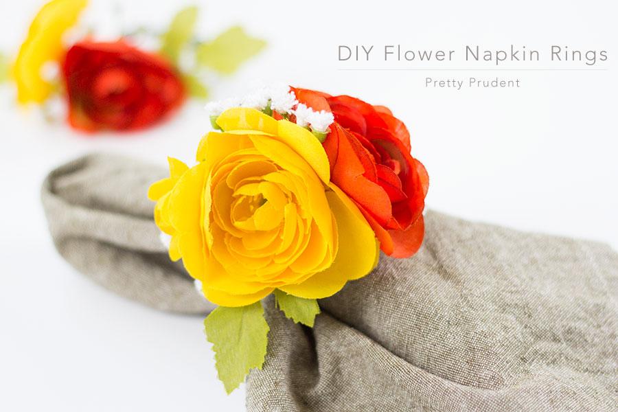 DIY-Flower-Napkin-Rings