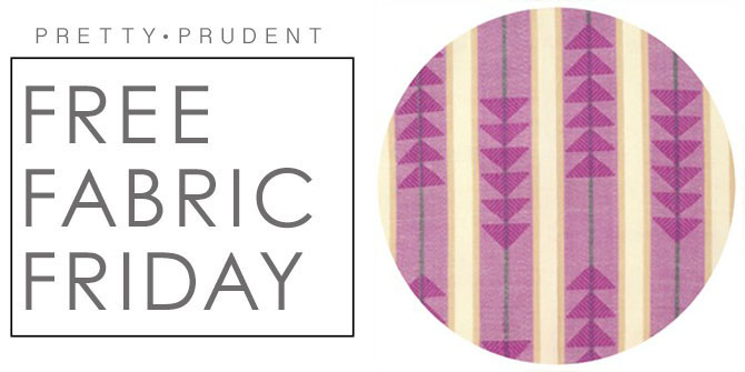 Fabric Friday on Pretty Prudent