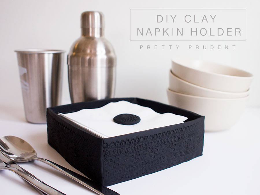DIY-POLYMER-CLAY-NAPKIN-HOLDER