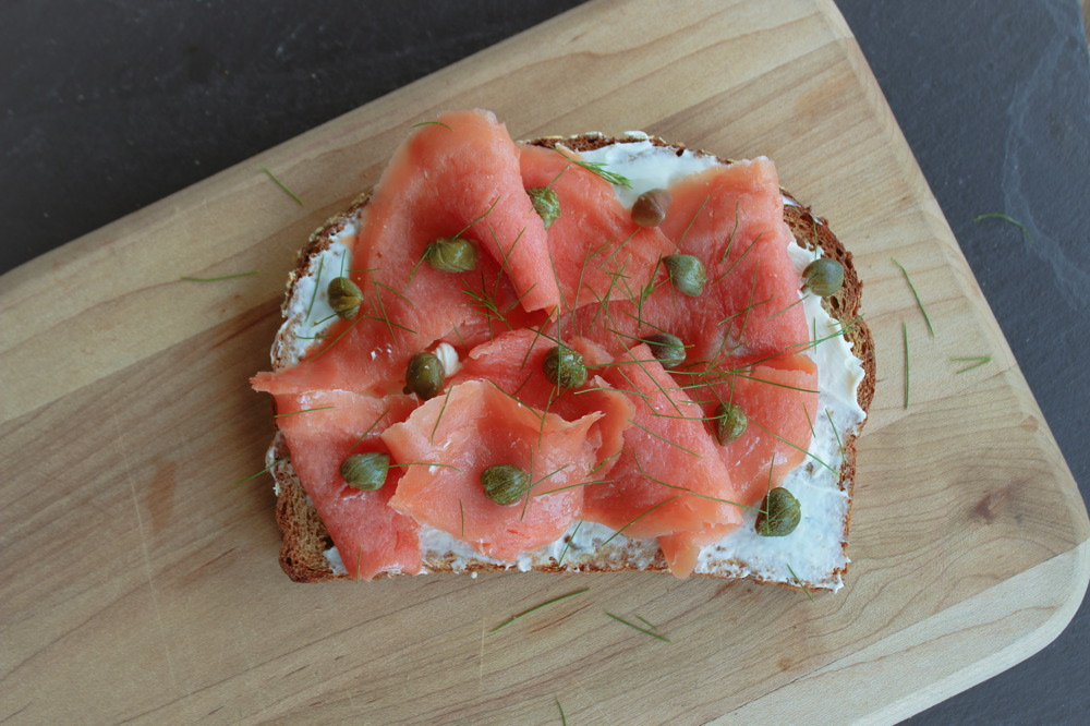 Toast Tuesday | Salmon, Caper &  Dill