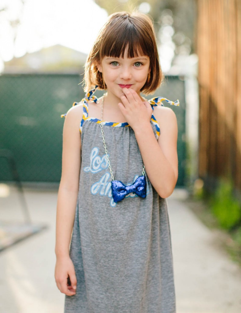 Upcycle Any T-shirt Into a Sundress This Summer