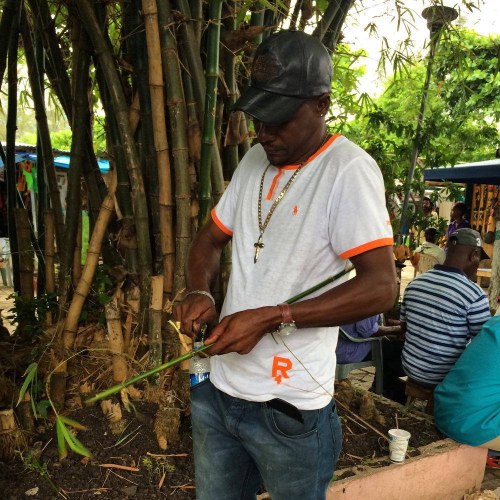 Jamaica Bamboo Straw
