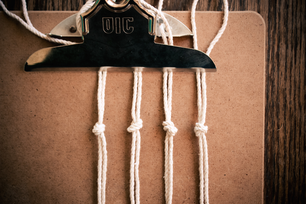 DIY Macrame Bottle Holder 19