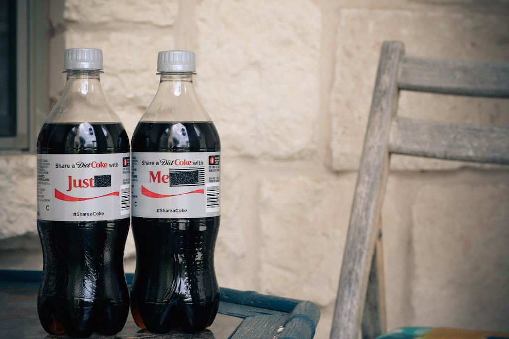 Share a Diet Coke with Just Me