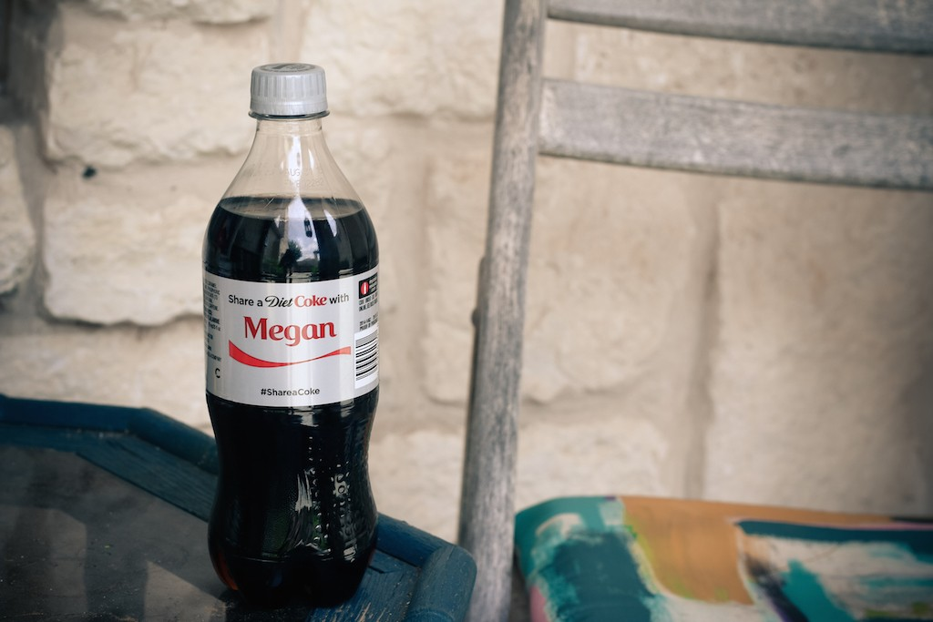 Share a Diet Coke with Megan