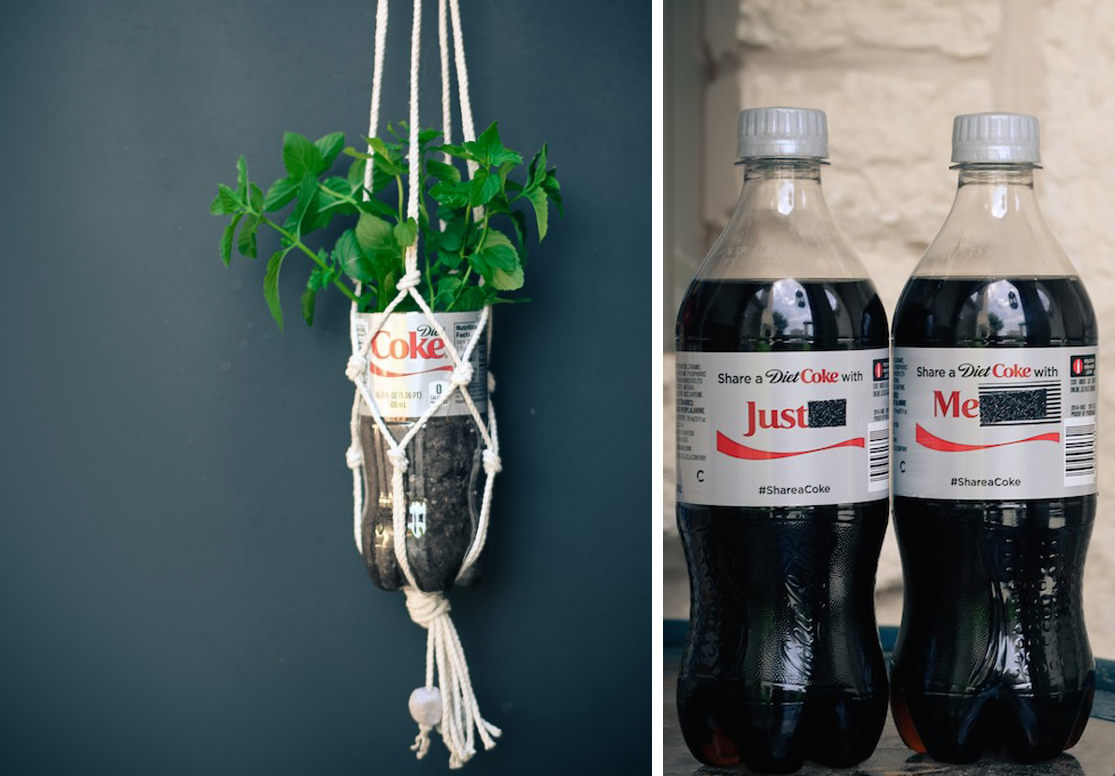 Easy DIY Macramé Bottle Holder
