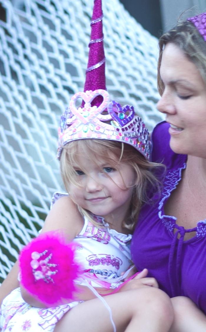 Unicorn horn party hat