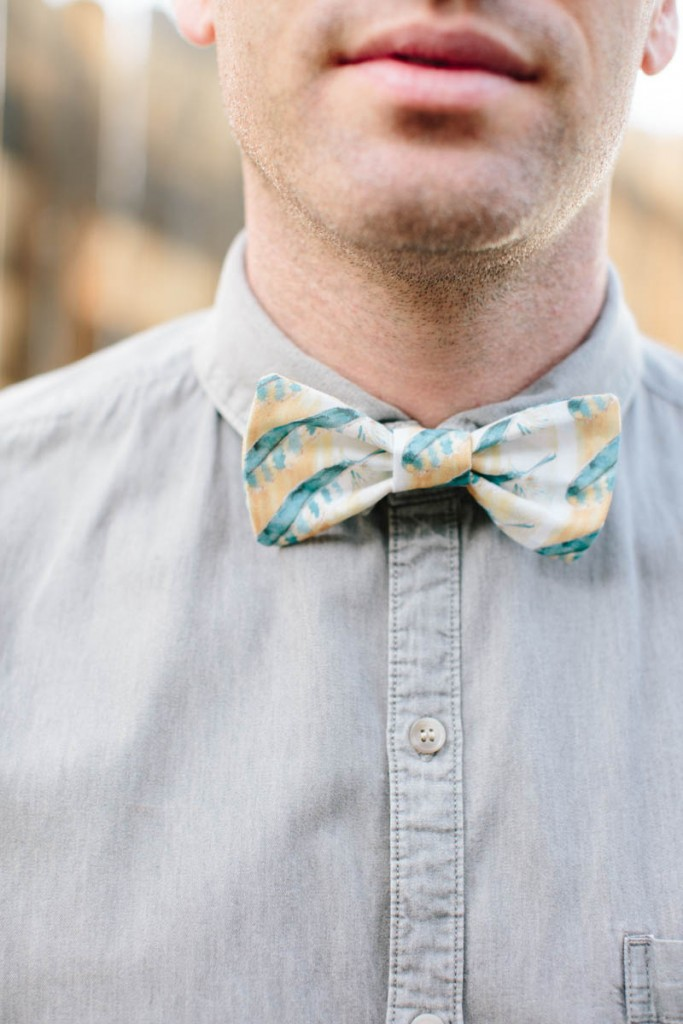 how to cut and sew a bow tie