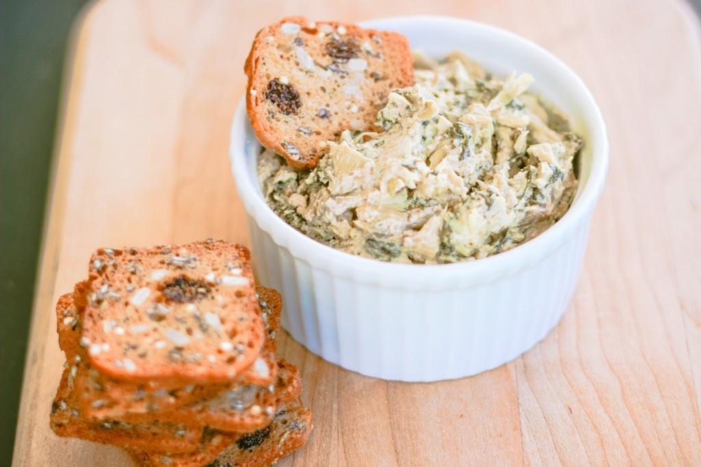 The Best Crock Pot Spinach Artichoke Dip