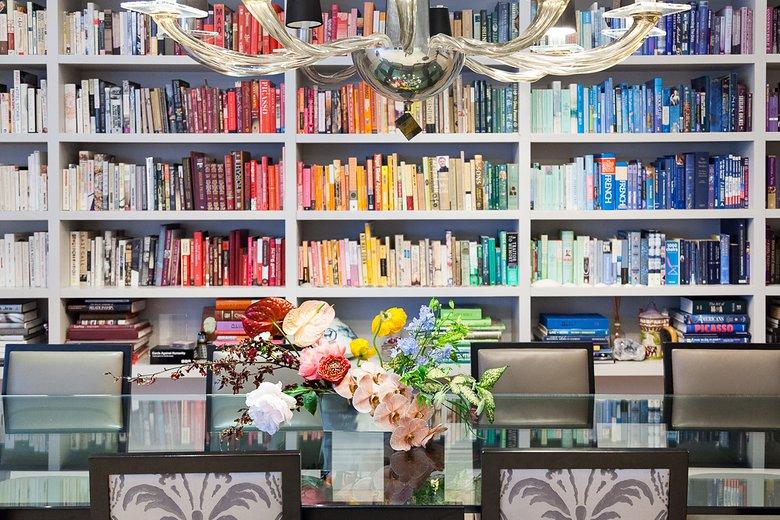 Rainbow Bookshelf 1