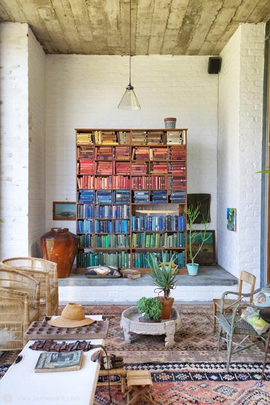 Rainbow Bookshelf 3