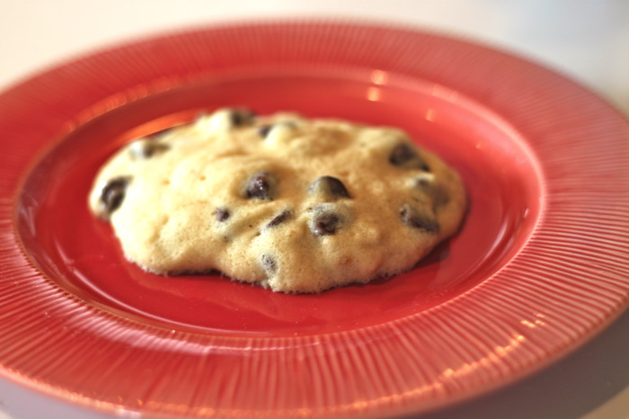 Microwave Chocolate Chip Cookie Recipe