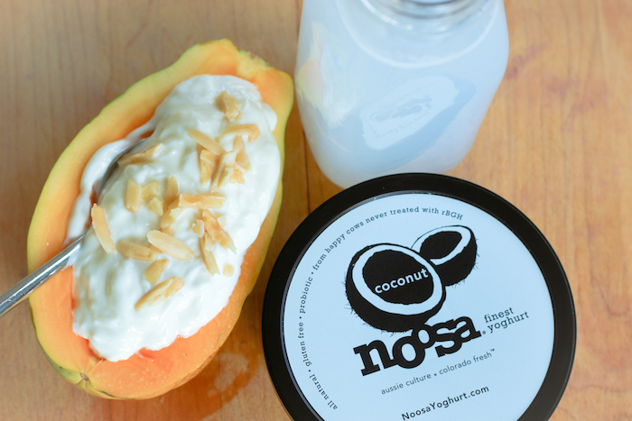 Papaya Yogurt Boat Breakfast Recipe