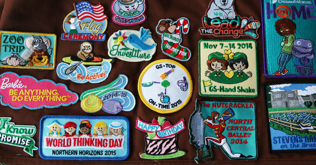 The Best Way to Easily Attach Badges for Girl Scouts
