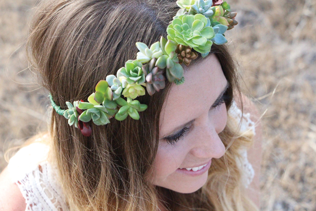 How to make a Succulent crown