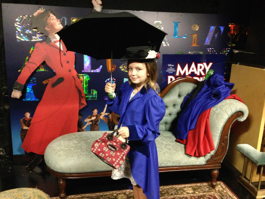NYC Broadway Backstage at the New Amsterdam Mary Poppins