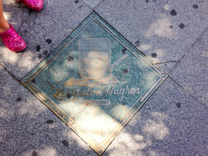 NYC Harlem Langston Hughes