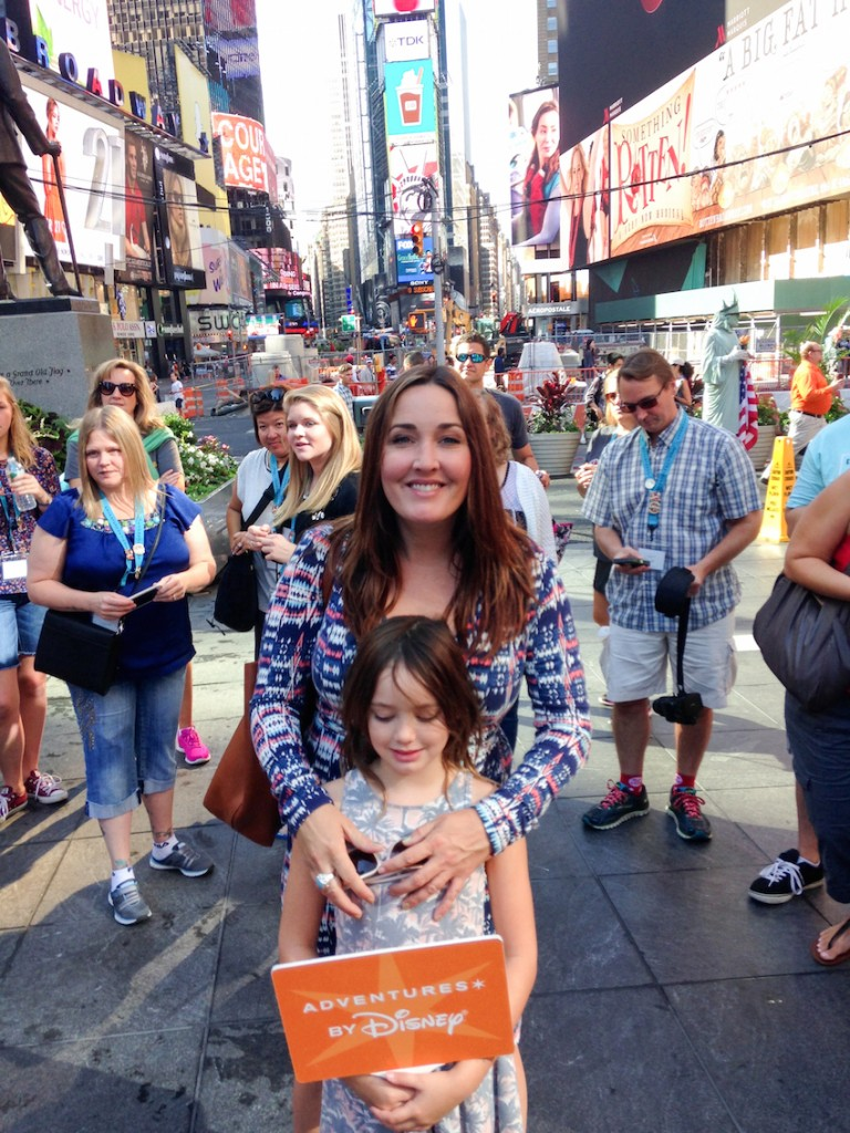 NYC Times Square with Scarlet