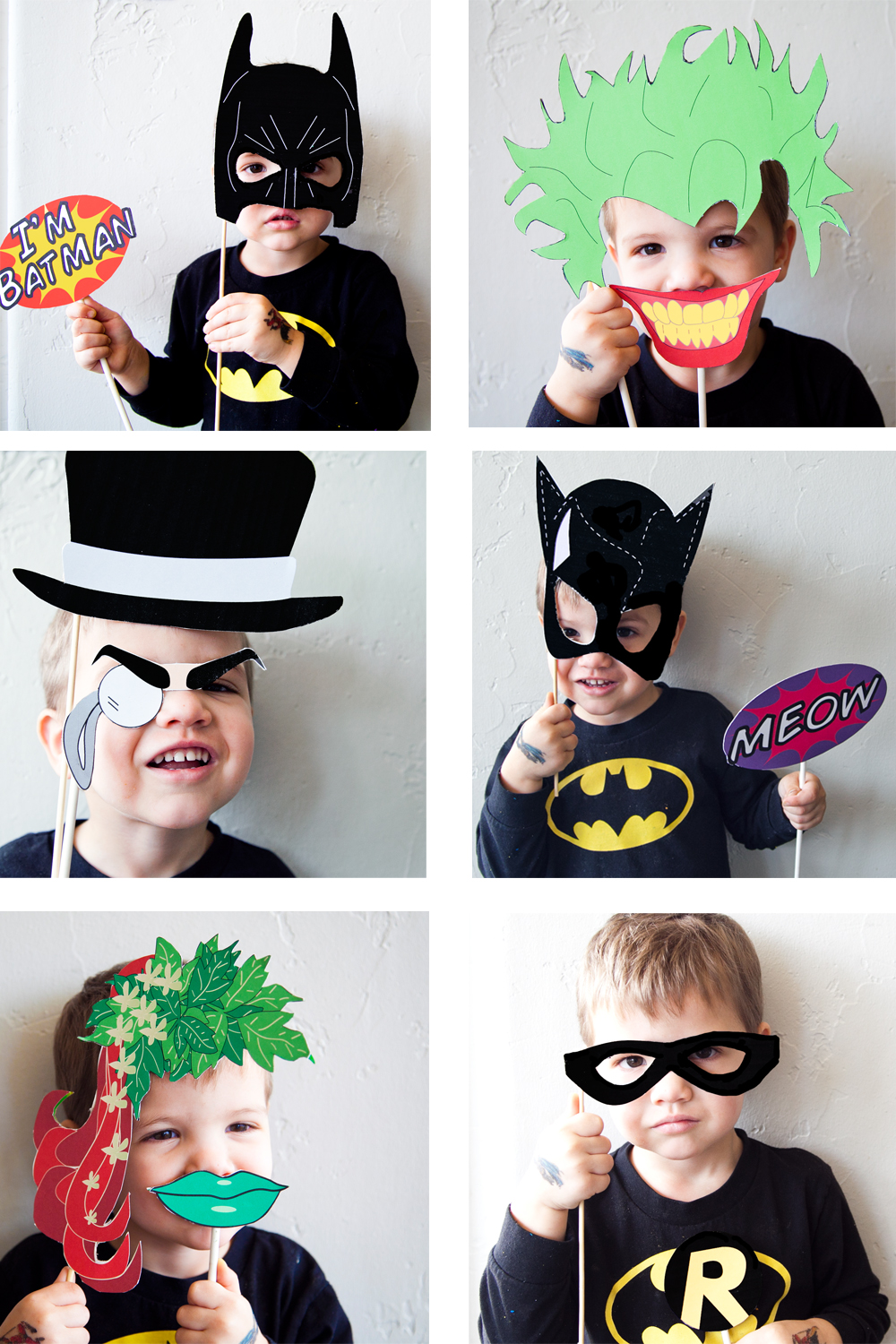 DIY Batman Halloween