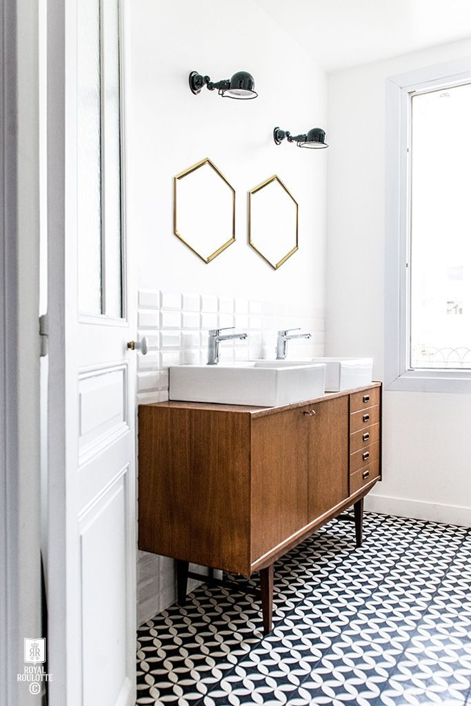 cement tile bathroom