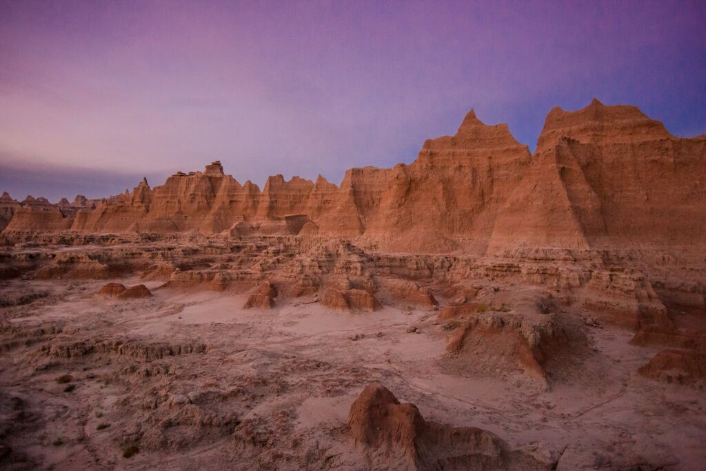 Badlands Sunset Laura Grier
