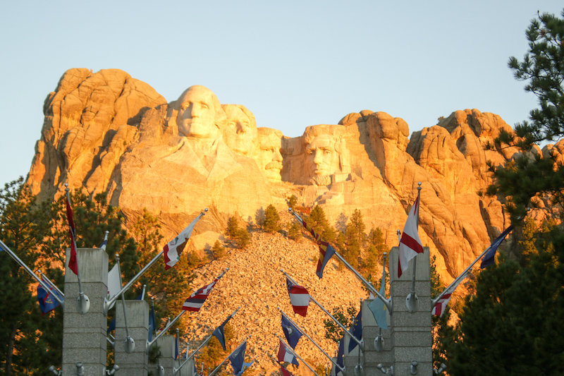 Mount Rushmore at Sunrise