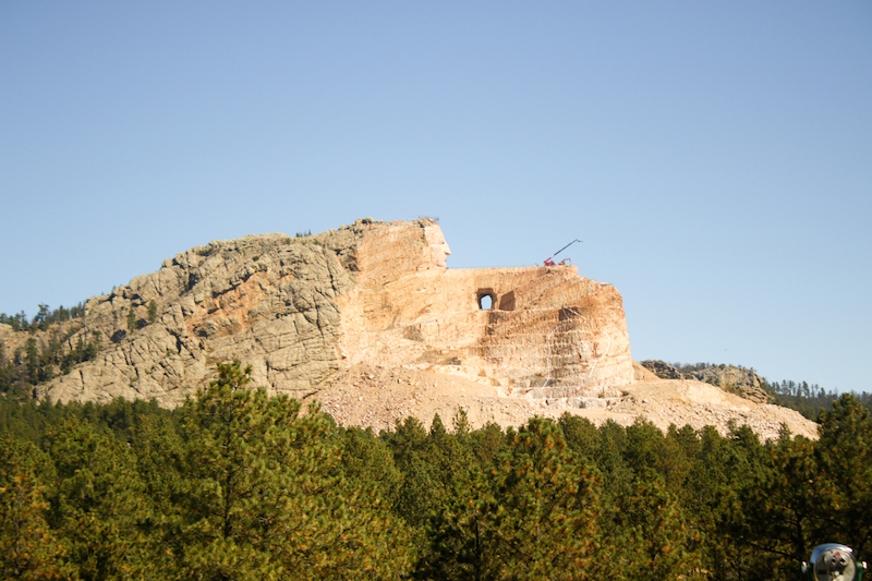 Crazy Horse from Below
