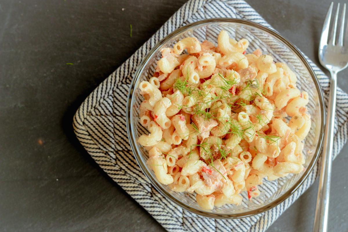 How to Make Salmon Pasta Salad