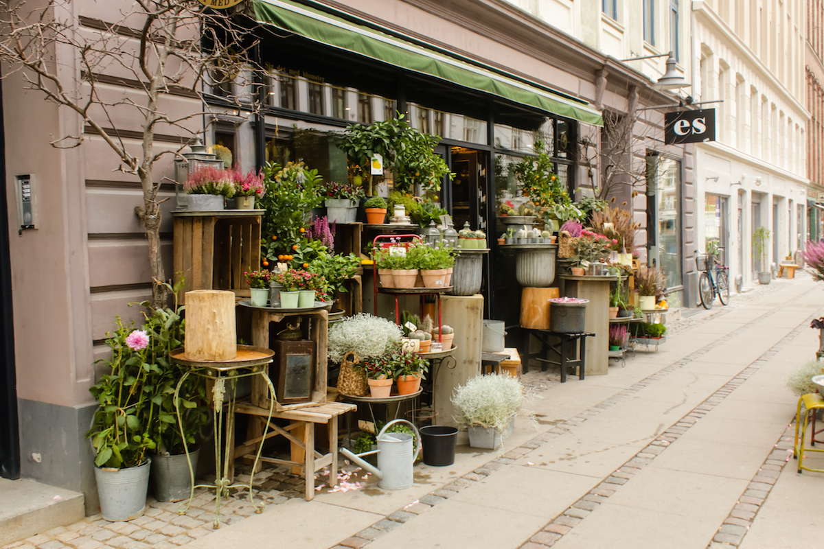 Copenhagen Flower Shops