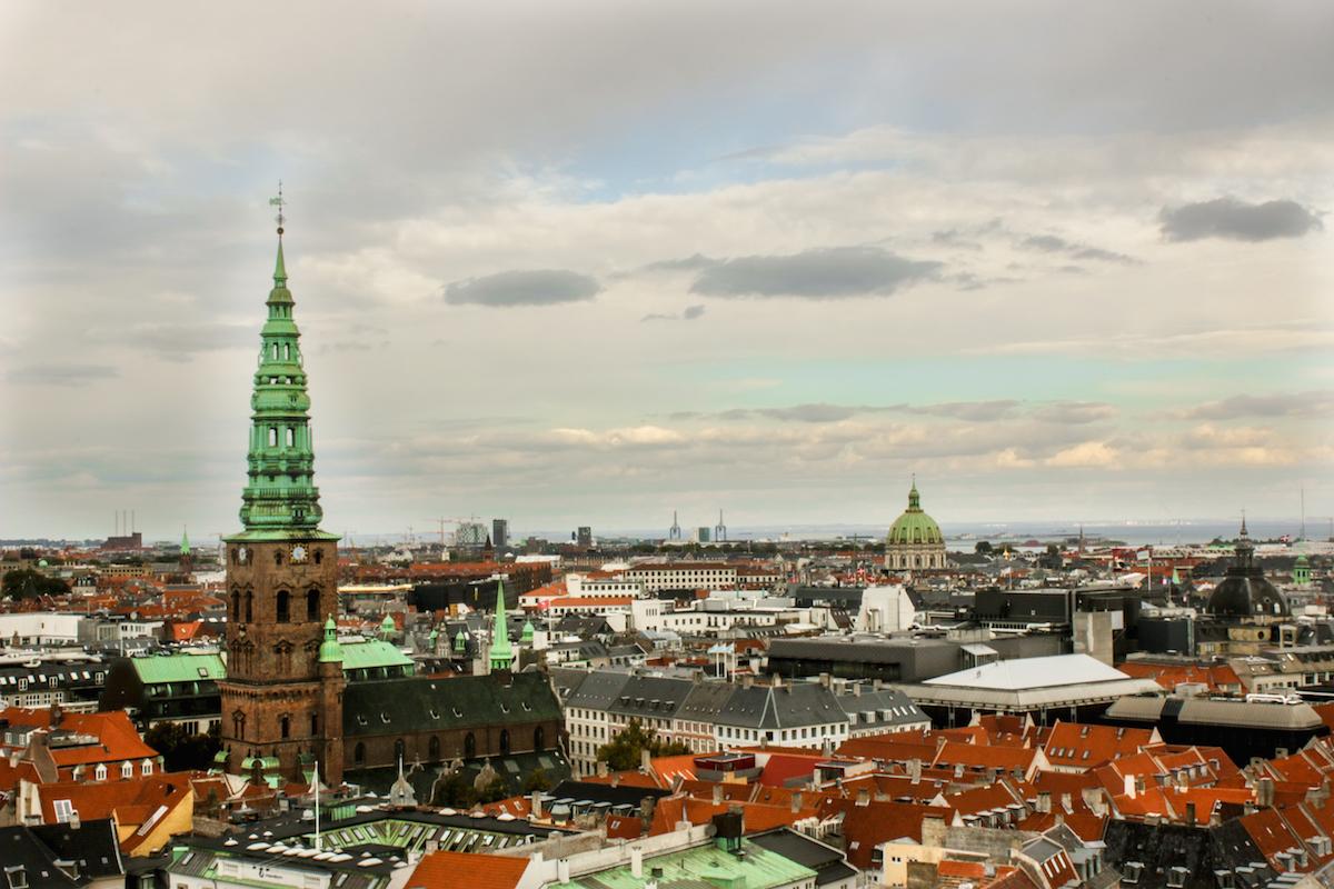 View from Tårnet, Christiansborg Castle, Copenhagen