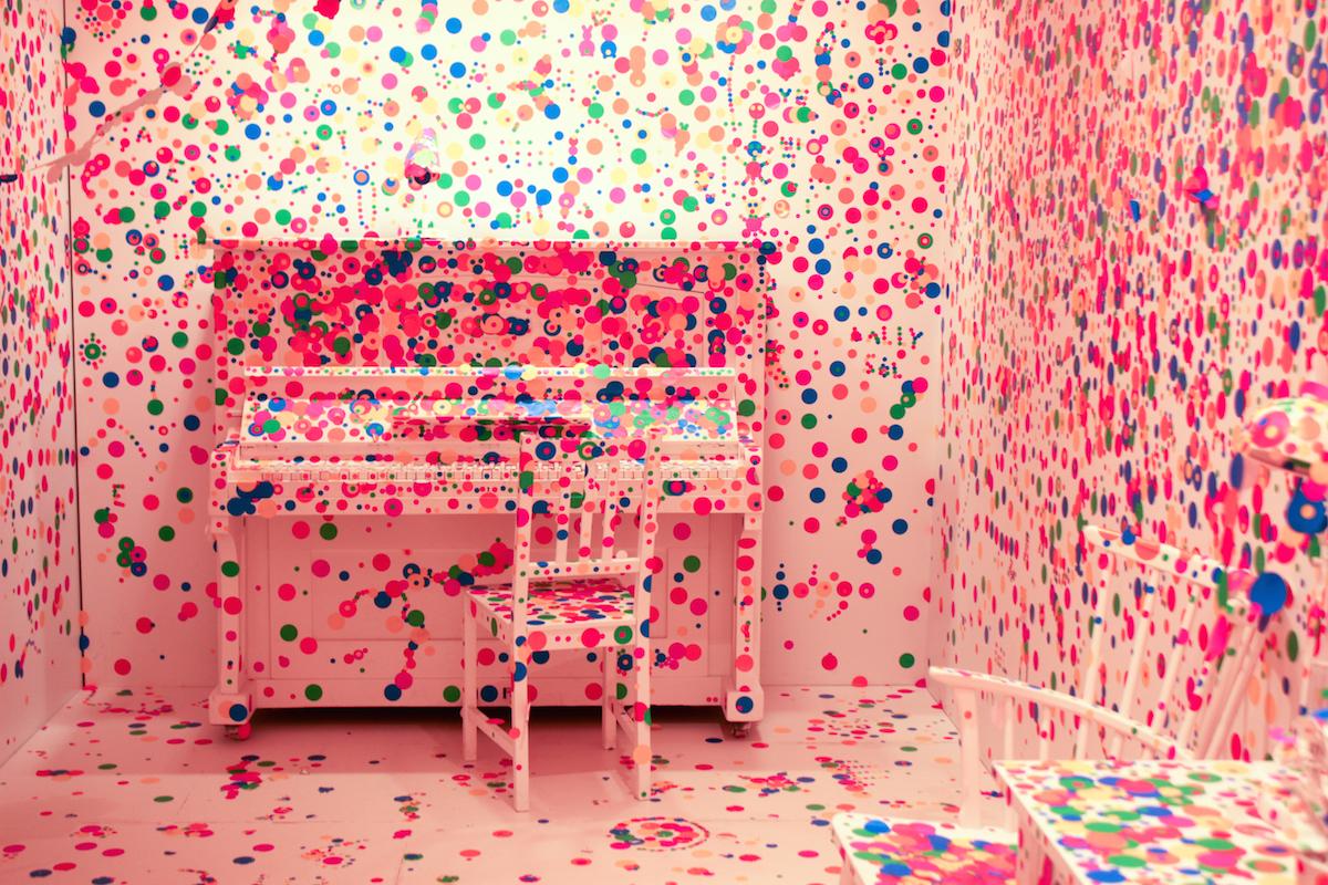 Yayoi Kusama Exhibit Louisiana Museum of Modern Art