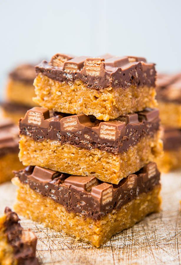 Kit Kat Crunch Bars Recipe
