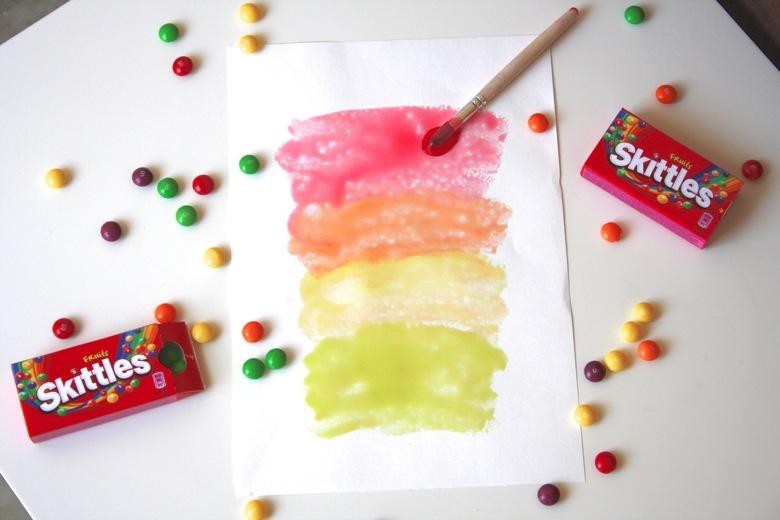 Skittles Paint