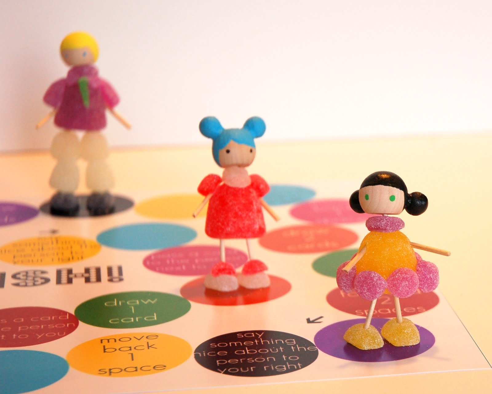 Gumdrop Girls DIY Board Game with Printables