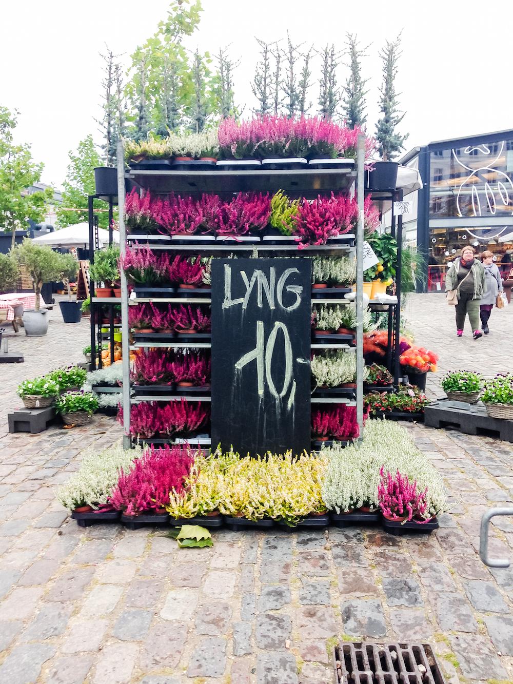 Copenhagen Flower Stalls