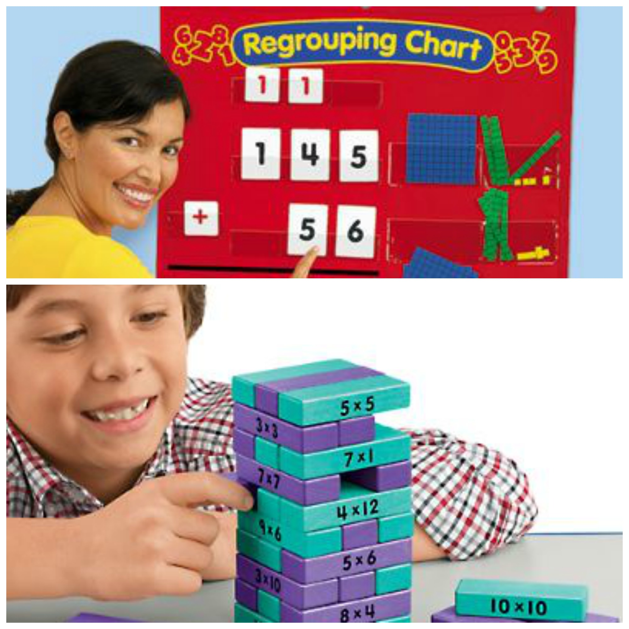 10 Things Your Teacher Wants for the Classroom: Math Activities