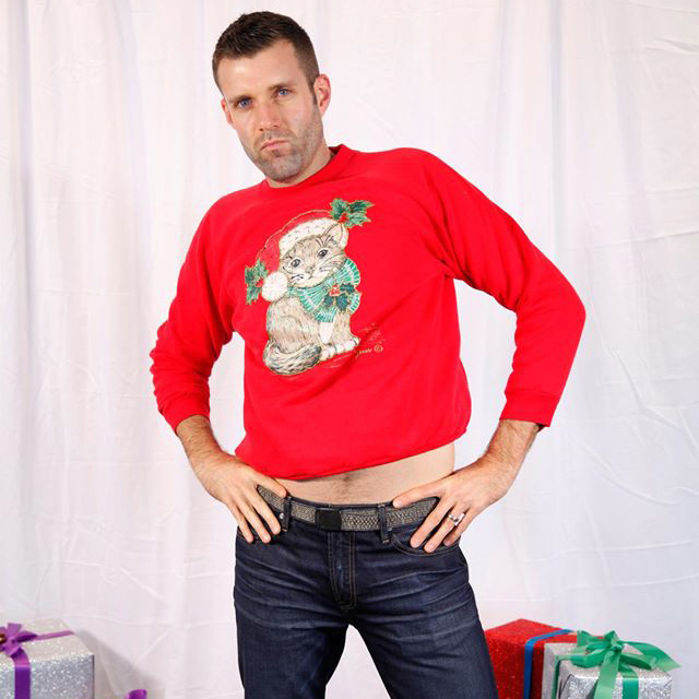 brad blake ugly christmas sweater