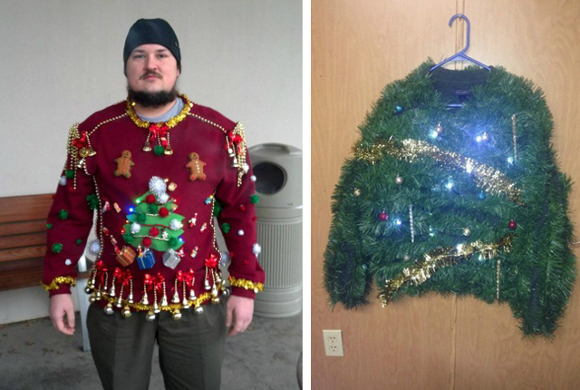 ugly christmas sweater ideas - How To Decorate A Ugly Christmas Sweater