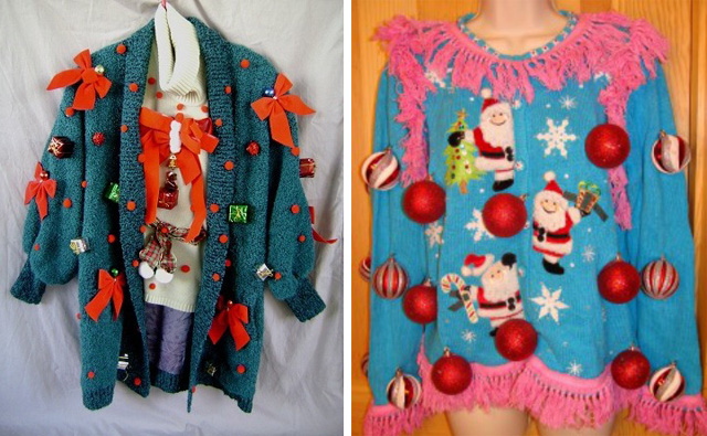 ugly christmas holiday sweater ideas