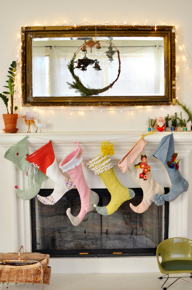 elf shoe christmas stocking pattern