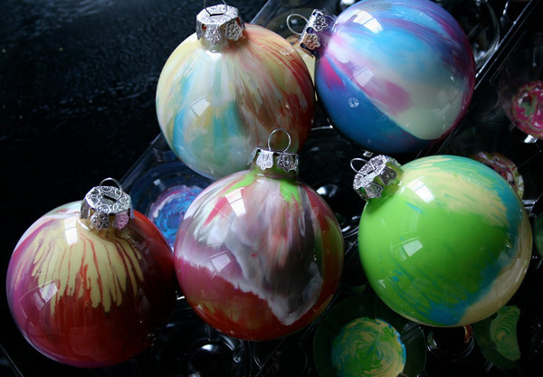 DIY Paint Ornaments